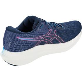 asics Evo Ride 2 Shoes Women, niebieski/różowy